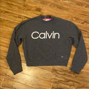Calvin Klein crop sweater